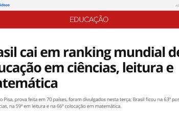 Conheça aVERDADESUJA sobre a Alfabetização no Brasil